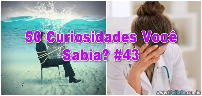 50 Curiosidades Você Sabia? #43