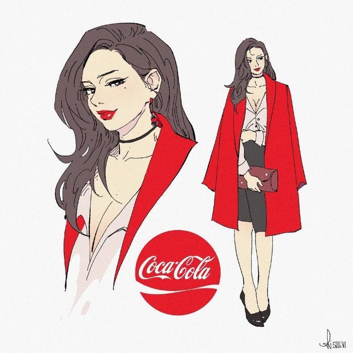 E se os refrigerantes populares fossem desenhos animados (14 fotos) 2