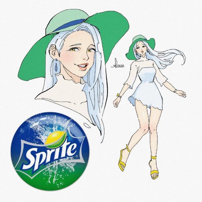 E se os refrigerantes populares fossem desenhos animados (14 fotos) 13