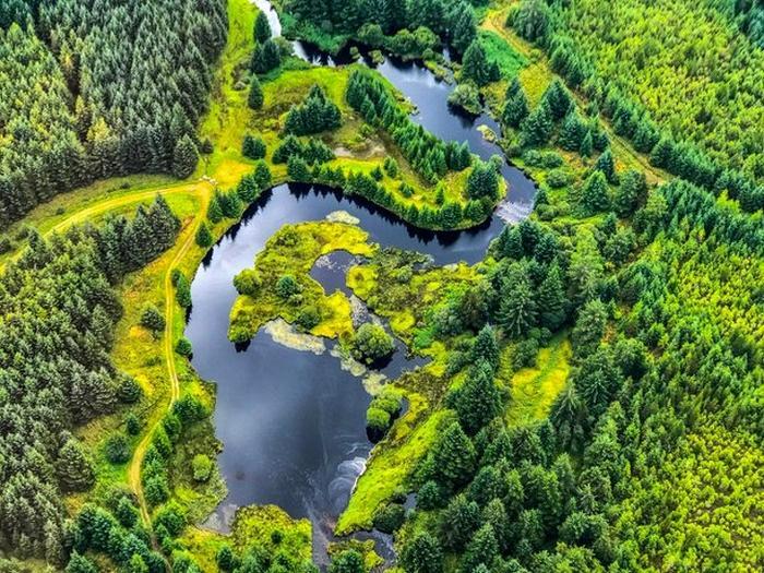 20 incríveis fotos feitas com drones 4