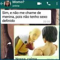 Como os brasileiros reagem a uma mensagem da Momo
