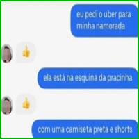 Como chamar um Uber para sua namorada
