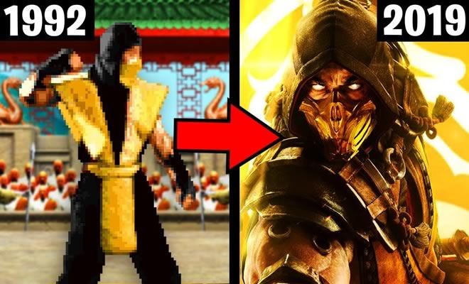 A incrível evolução de Mortal Kombat 2