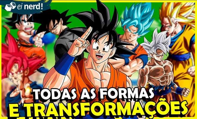 Todas as formas do Goku até hoje 5
