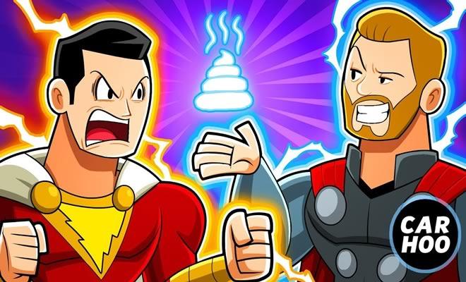 Shazam vs Thor 2