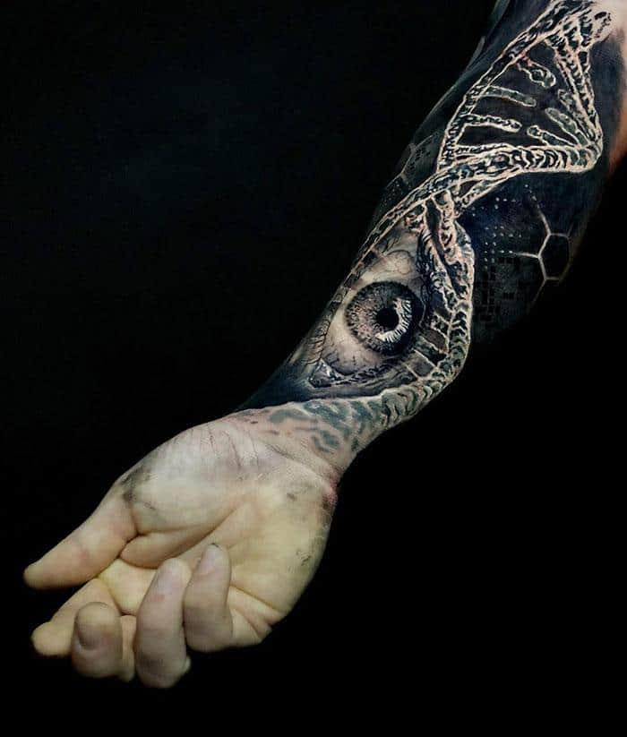 43 tatuagens 3D mais épicas da internet 3