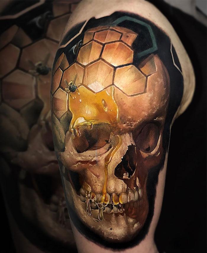 43 tatuagens 3D mais épicas da internet 13