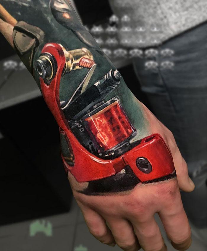 43 tatuagens 3D mais épicas da internet 14