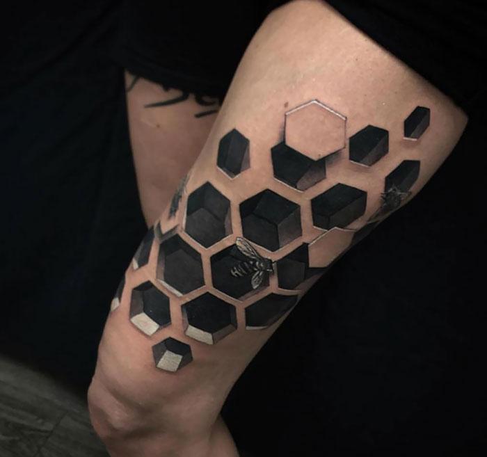 43 tatuagens 3D mais épicas da internet 15