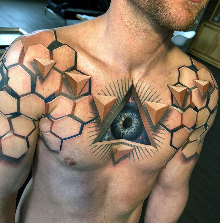 43 tatuagens 3D mais épicas da internet 17