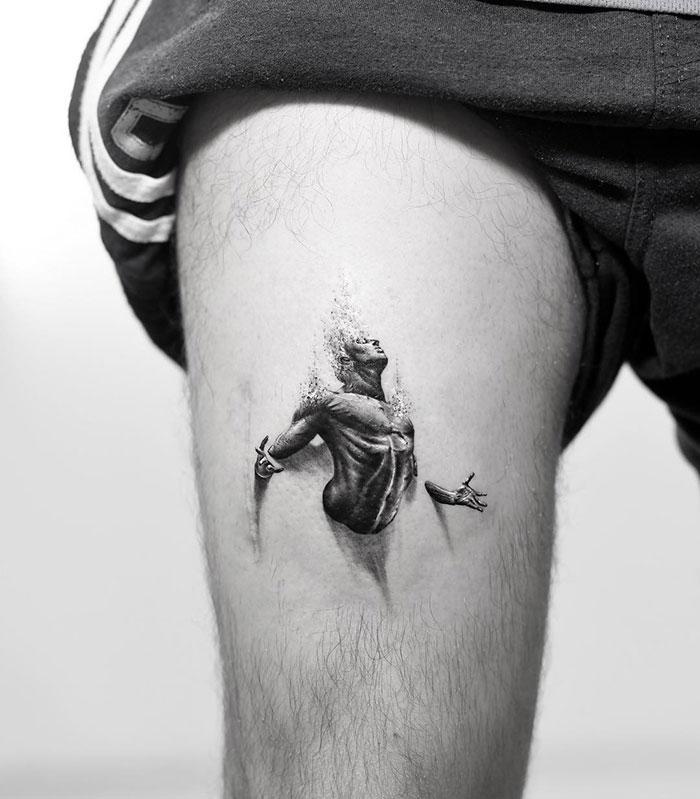 43 tatuagens 3D mais épicas da internet 21