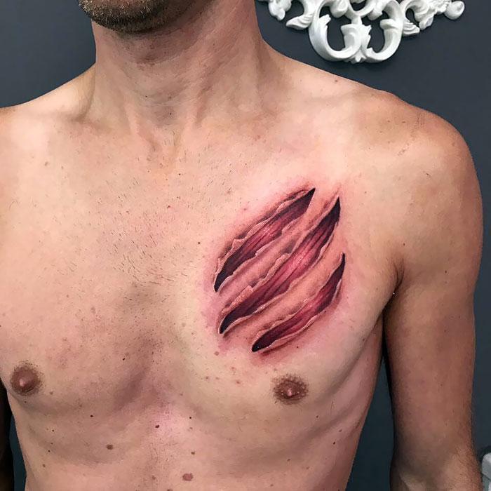 43 tatuagens 3D mais épicas da internet 25