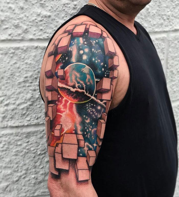 43 tatuagens 3D mais épicas da internet 27