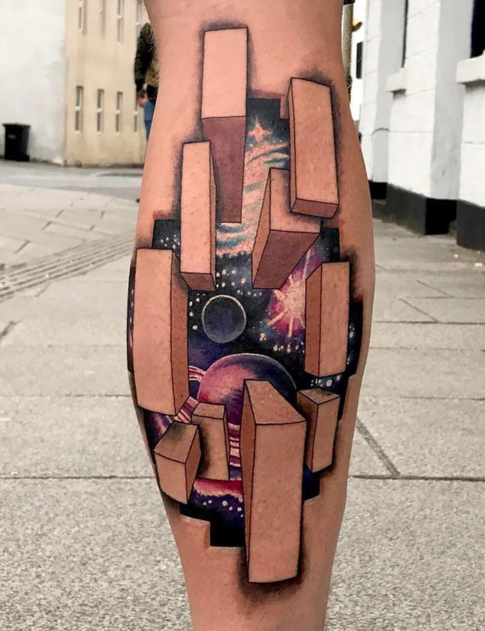 43 tatuagens 3D mais épicas da internet 28