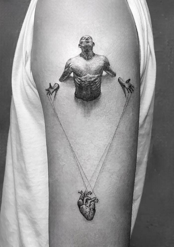 43 tatuagens 3D mais épicas da internet 32