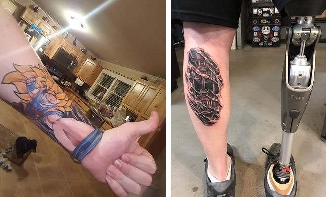 43 tatuagens 3D mais épicas da internet 16