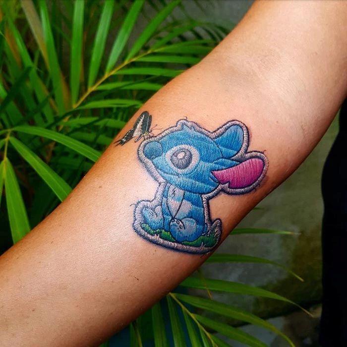 46 tatuagens de bordados que estão se popularizando no Brasil 5