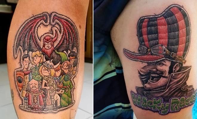 46 tatuagens de bordados que estão se popularizando no Brasil 4