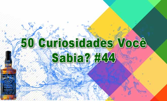 50 Curiosidades Você Sabia? #44