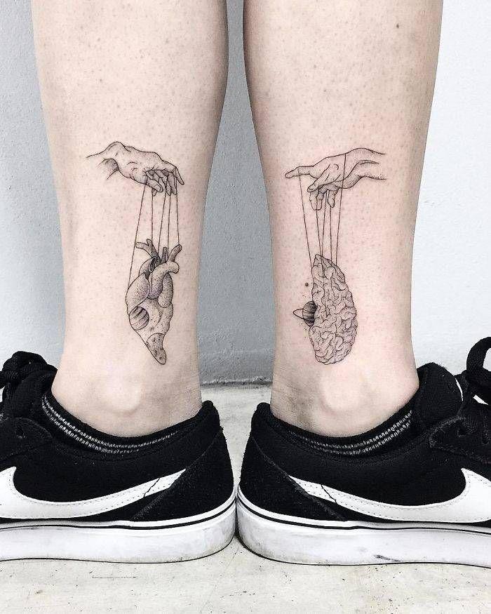 Algumas das mais incríveis tatuagens de pernas (43 fotos) 11