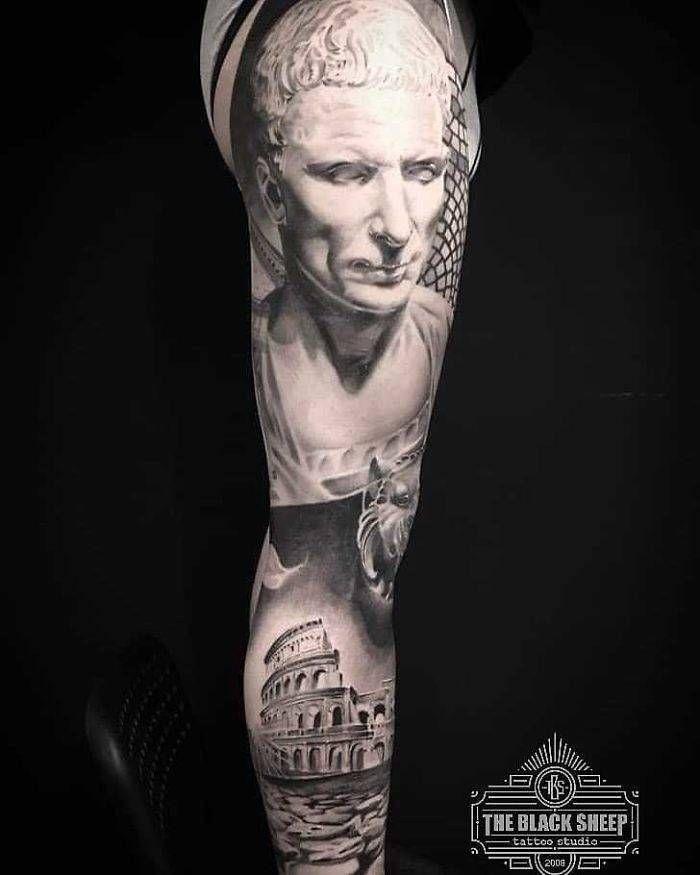 Algumas das mais incríveis tatuagens de pernas (43 fotos) 13