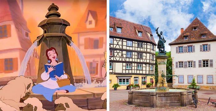 11 lugares mágicos que inspiraram os filmes de contos de fadas 6
