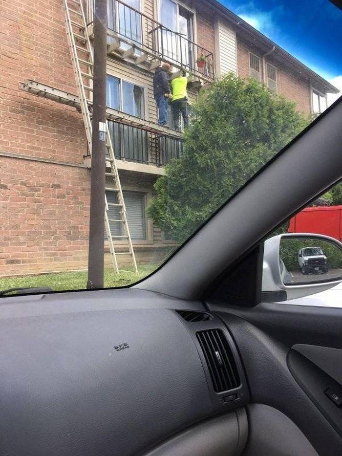 Segurança no trabalho: Você está fazendo isso errado (24 fotos) 22
