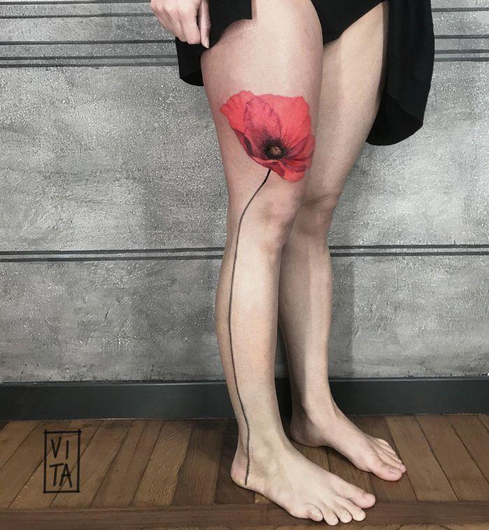 20 tatuagens 3D realísticas somente o mais bravo se atreveria a fazer 9
