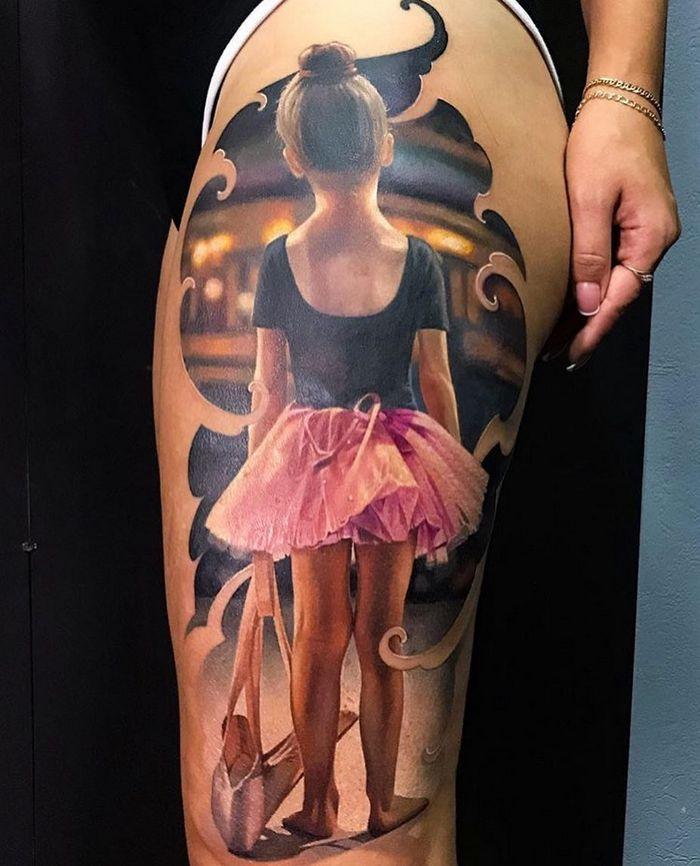 20 tatuagens 3D realísticas somente o mais bravo se atreveria a fazer 10