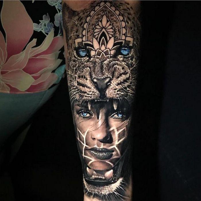 20 tatuagens 3D realísticas somente o mais bravo se atreveria a fazer 22