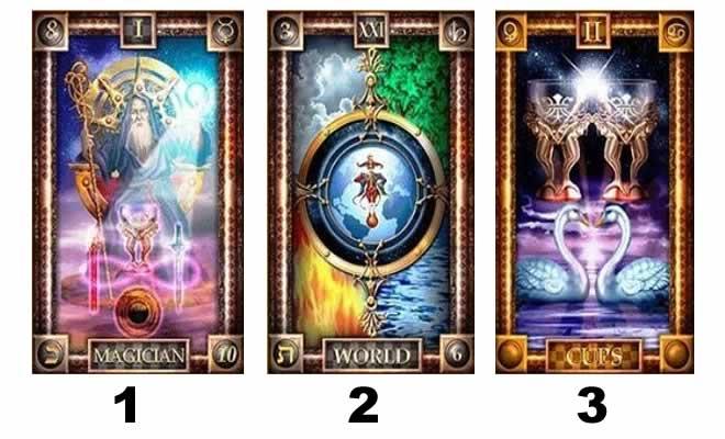 Escolha uma das cartas de Tarot e ganhe uma incrível mensagem de vida