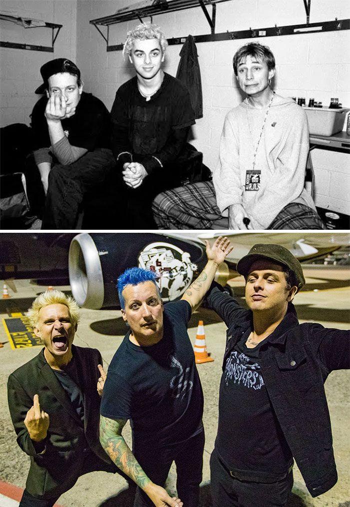 19 fotos de bandas lendárias no início e depois que ficaram famosas 7