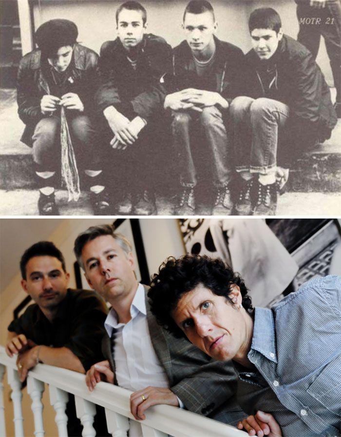 19 fotos de bandas lendárias no início e depois que ficaram famosas 11