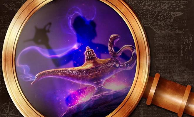 História e as origens de Aladdin 4