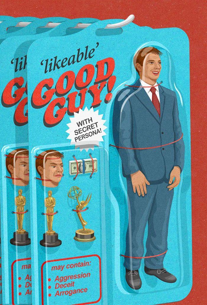 30 ilustrações honestas sobre as coisas que estão erradas com a sociedade 3