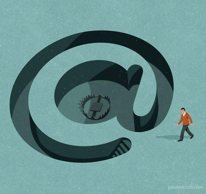 30 ilustrações honestas sobre as coisas que estão erradas com a sociedade 10