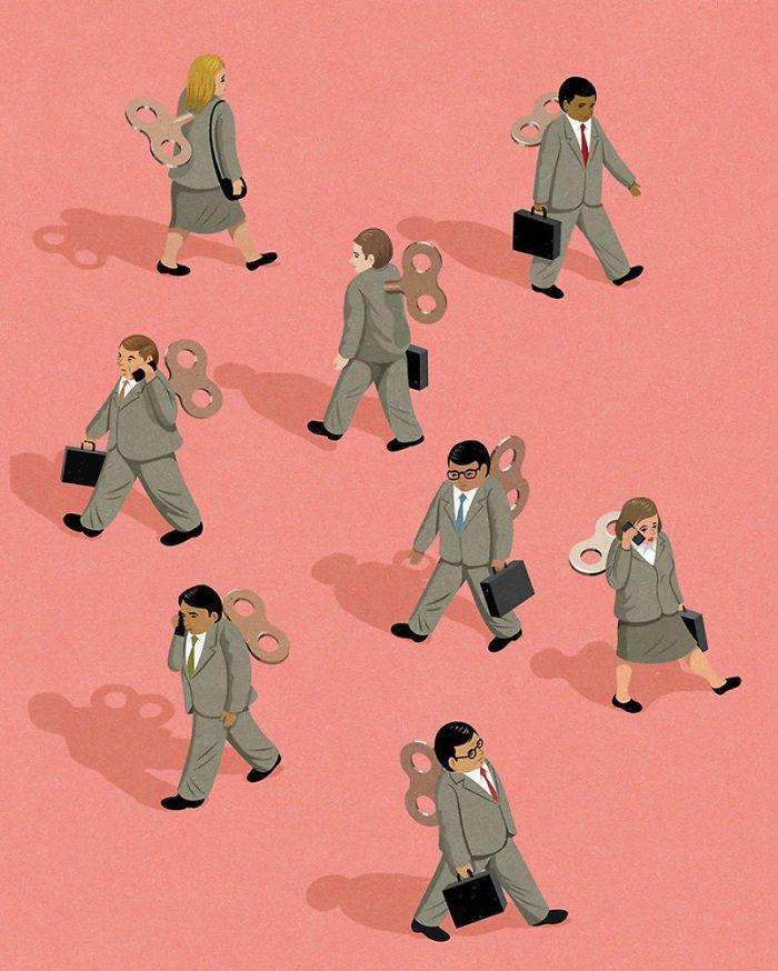 30 ilustrações honestas sobre as coisas que estão erradas com a sociedade 20