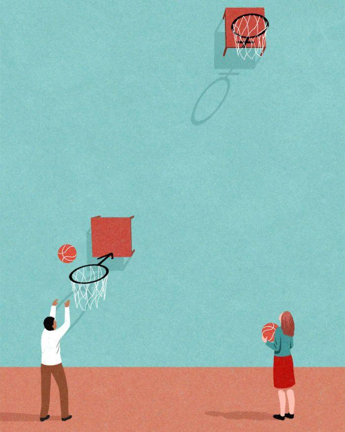 30 ilustrações honestas sobre as coisas que estão erradas com a sociedade 24