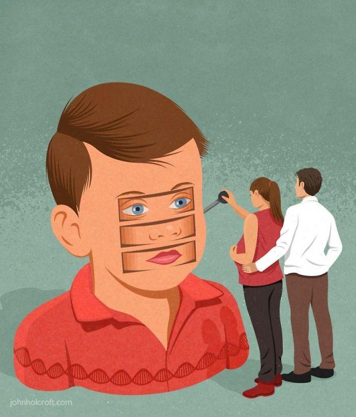 30 ilustrações honestas sobre as coisas que estão erradas com a sociedade 26