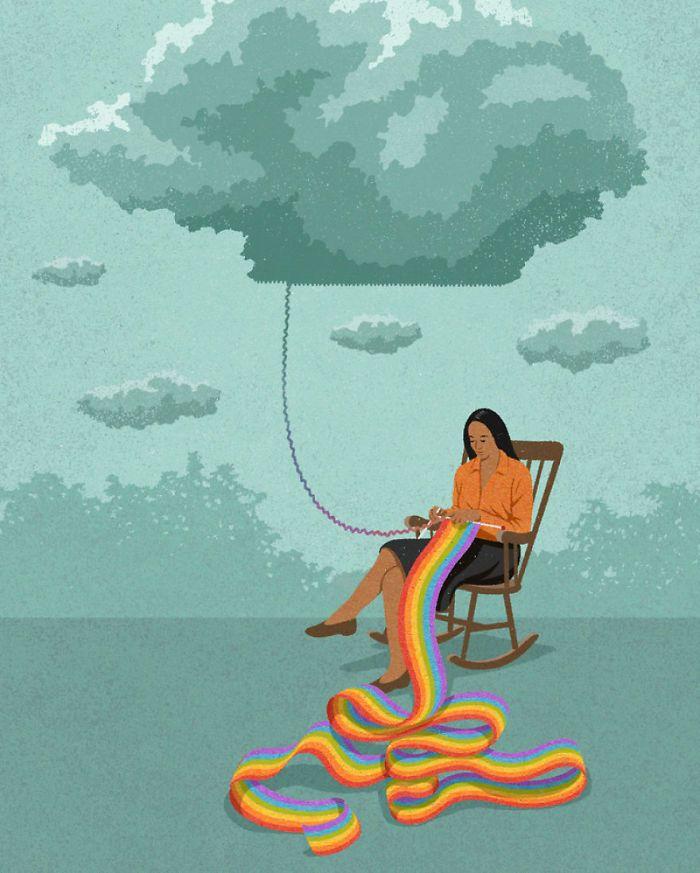 30 ilustrações honestas sobre as coisas que estão erradas com a sociedade 30