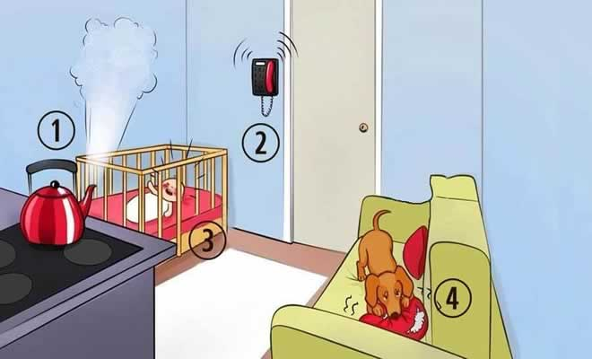 O que você faria primeiro nesta situação?