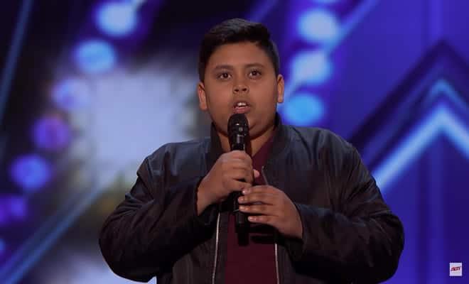 12 anos e o novo prodígio de America's Got Talent 5