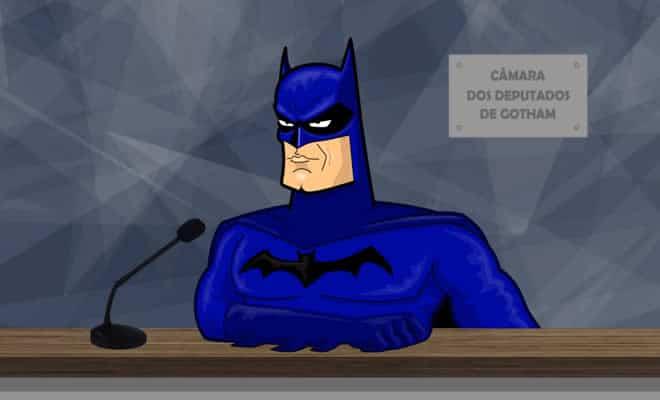 Batman pede reforço para combater a criminalidade em Gotham 7