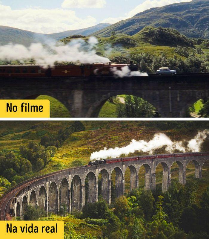 16 cenários reais que inspiraram os criadores dos filmes de Harry Potter 2