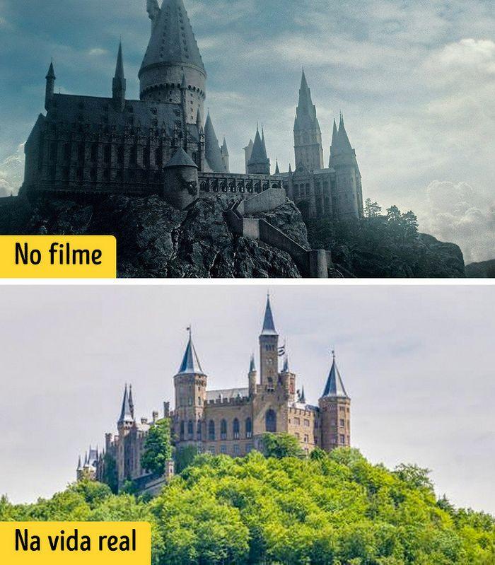 16 cenários reais que inspiraram os criadores dos filmes de Harry Potter 3