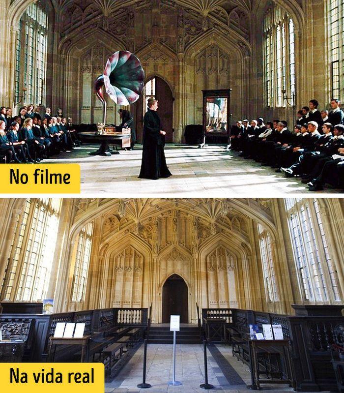 16 cenários reais que inspiraram os criadores dos filmes de Harry Potter 13