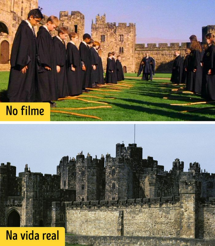 16 cenários reais que inspiraram os criadores dos filmes de Harry Potter 14