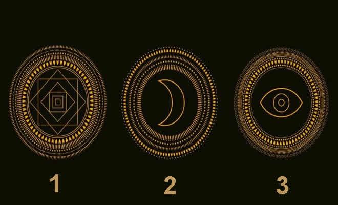 Escolha um símbolo místico: Você vai descobrir algo profundo sobre sua energia