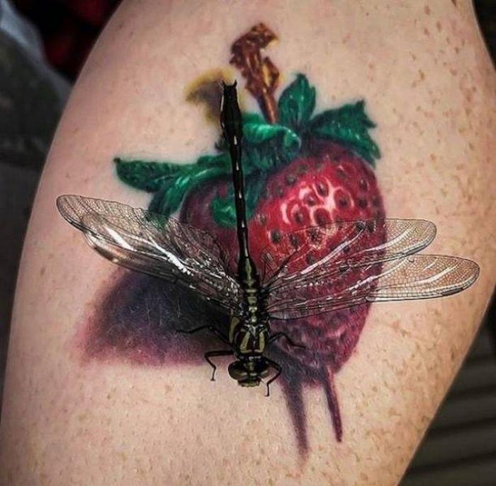 Tatuagens hiper-realistas são as melhores tatuagens! (34 fotos) 8