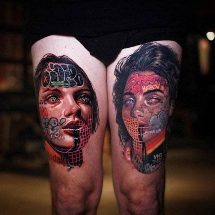 Tatuagens hiper-realistas são as melhores tatuagens! (34 fotos) 13